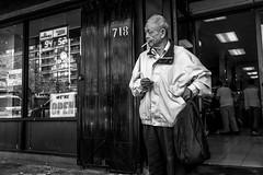 Chinatown (feldmanrick) Tags: streetphotography street oakland candid unposed decisivemoment monochrome blackandwhite bw outdoor urban chinatown