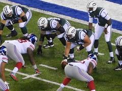 NY Giants vs NY Jets (Miles Glenn) Tags: jetsgame082706 ny giants vs jets nyj nfl new york football