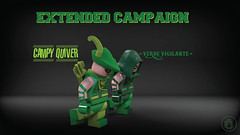 Last chance to hit this target (lmazingtoys_eu) Tags: pad lego custom arrow printed green superheroes exclusive deluxe comics limited figures minifig