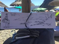 Reale - Capo d'Arco, isola d'Elba (matteotarenghi) Tags: tumblr vacation isola delba tarenghi matteo urban sketching sketchers cocco e ananas capo darco