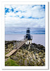 Lighthouse at Battery Point (Travels with a dog and a Camera :)) Tags: lighthouse severn england 2016 september photoshop cc 2015 justpentax rocks sea battery point lightroom digital coastal pentax k5 uk art south west north somerset portishead tamron af 18200mm f3563 xr di ii ld asperical if macro batterypoint lightroomcc northsomerset pentaxart pentaxk5 photoshopcc2015 southwest tamronaf18200mmf3563xrdiiildaspericalifmacro unitedkingdom gb