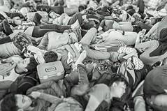 Busy (Alfonso Lpez Rodrguez) Tags: indonesia java boat barco busy lleno gente people blancoynegro blackwhite byn bw crowd crowded abarrotado descansando resting