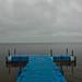 Cloudy Pleshcheyevo Lake