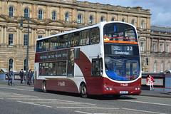 Lothian Buses Volvo B7TL 716 SN55BKZ - Edinburgh (dwb transport photos) Tags: lothianbuses volvo wright eclipse gemini bus decker 716 sn55bkz edinburgh