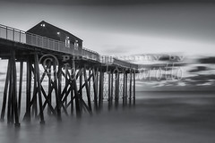 Belmar Morning B+W (Jerry Fornarotto) Tags: atlantic atlanticocean bw beach belmar blackandwhite coastal dawn daybreak eastcoast eastern fishingpier jerryfornarotto jerseyshore landscape midatlantic morning newjersey nj ocean outdoors pier scenery scenic seascape seashore sky sunrise