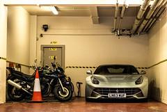 Ready for a quick escape. (stolemykeys) Tags: london ferrari f12 berlinetta