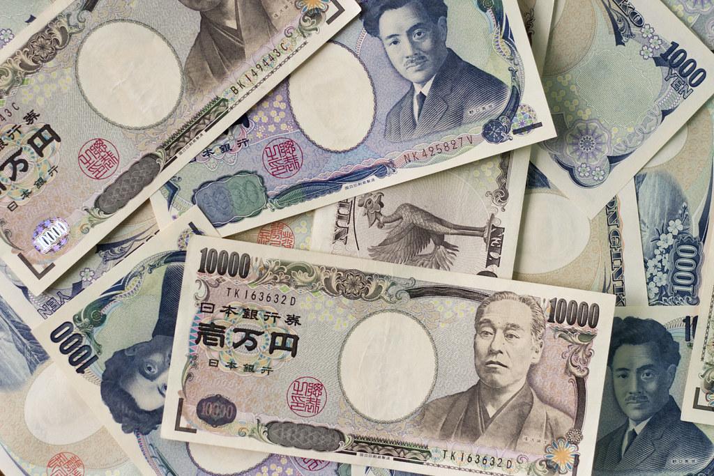 Japanese Yen Bills by Japanexperterna.se, on Flickr
