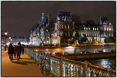 Paris, France 2014 in colours (Mio Cade) Tags: street travel winter paris france tower museum evening day louvre notredame champselyses effel