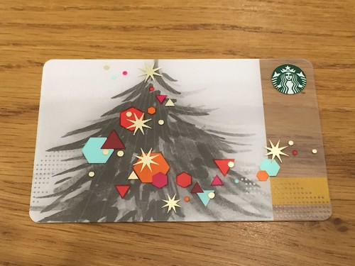 Starbucks Card Tree 2014