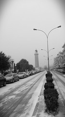 Alexandroupolis snowy day.