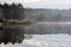 Misty Morning (Ryan Paulsen Photography) Tags: mist ontario canada water fog rural still waterfront ottawa peaceful calm valley relaxation tranquil waterway