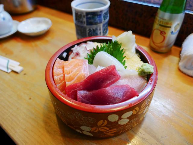 日本 青森–街角一隅,溫暖之情–紀文壽司(寿司)