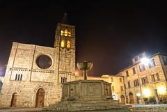 Piazza Filippo Silvestri Bevagna (Bruno Tardioli) Tags: italia paese bevagna borgomedievale nikond200 nikoncapture grandangolare nikon1685vr bellapiazza bellissimapiazza