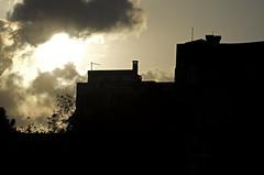 Shadow of Istanbul (manuel.gros) Tags: city sunset shadow urban sun building silhouette clouds turkey nikon sonnenuntergang wolken istanbul trkei stadt nikkor sonne schatten gebude 18105mm d5100