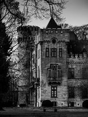 Jagdschloss Herdringen (Thomas Kriehn Photography) Tags: bw white black castle germany deutschland olympus tudor edgar wallace sw 365 schwarz omd sauerland weis jagdschloss project365 365days em5 365daysproject herdringen 365tage 3652015