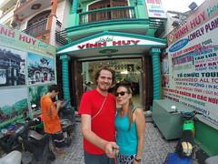 Photo de 14h - Devant l'hôtel (Hoi An) - 4.12.2014