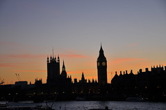 twilight zone (Michael desir) Tags: london tower clock bigben
