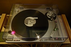 Audio-Technica (ricko) Tags: music face album turntable audiotechnica lp record rockandroll twitchshout
