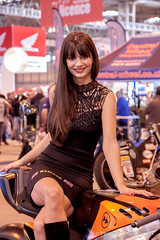 NEC MOTORCYCLE LIVE 2014 (Dave Spencer.) Tags: girls england girl bike sport canon grid model birmingham live fast pit motorcycle motorsports nec motobike 500d davespencer canon500d