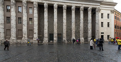 Hadrianeum - I (egisto.sani) Tags: rome roma temple roman romano empire di hadrian adriano tempio hadrianeum impero piazza pietra