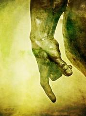 my liberation was Michelangelo (ellynwriting - slowmode) Tags: sculpture david adam tradition michelangelo rodin similarities txeep