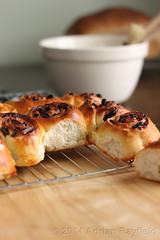 In the bakery (Adrian Rayfield) Tags: cakes bread baking chelsea buns