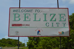 Welcome to Belize City sign in Central America (RYANISLAND) Tags: city america belize central tropical tropic belizecity tropics centralamerica warmweather centralamerican belizean belizeanpeople countyofbelize