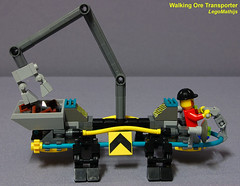 04_sideway_view_Walking_Ore_Transporter (LegoMathijs) Tags: 2 rock energy tipper lego crystal space scifi concept slope raiders miners moc ores legomathijs