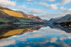 Talyllyn Lake, Snowdonia (babs pix) Tags: winter snow mountains reflections westwales snowdonia gwynedd talyllyn talyllynlake bbcwalesnature snowdoniamountainsandcoast
