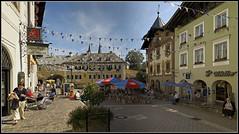 L1005174  - Berchtesgadener Land, Berchtesgaden, Marktplatz (Max-Friedrich) Tags: bayern bavaria berchtesgaden cityscape stitch architektur berchtesgadenerland leicam8 elmar24