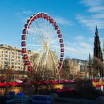the big wheel on Princes Street
