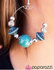 Glimpse of Malibu Blue Earring K2 P5712-1