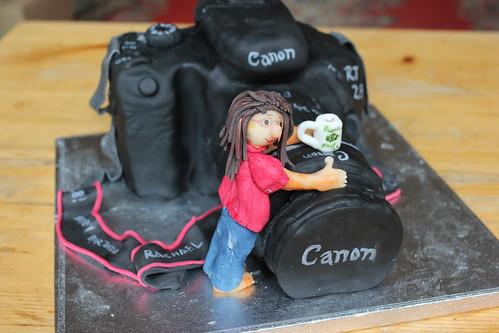 Canon 500D Cake