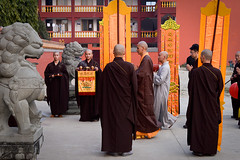 The Hero's Journey  In Buddha's Footsteps (Leonid Plotkin) Tags: nepal holiday festival religious temple asia buddha traditional prayer religion praying monk buddhism monks ritual tradition rite pilgrimage puja chinesetemple lumbini