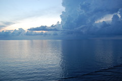 Clouds over water (thomas.hartmann496) Tags: cruise building water clouds photo ship pastel bahamas nassau storms