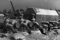 первая блочная нефтеперекачивающая станция Кума на нефтепроводе шаим-тюмень