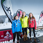 Red Mountain Teck Open - Sunday U16 Women - Podium PHOTO CREDIT: Ryan Flett
