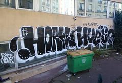 Horfe Hueso (carnagenyc) Tags: paris graffiti hueso pal hso horfe horphe smartcrew horfee