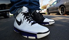 sports shoes 040ac b3172 2007 Nike Zoom Kobe II Lite (chiva1908) Tags  2 black basketball lite la