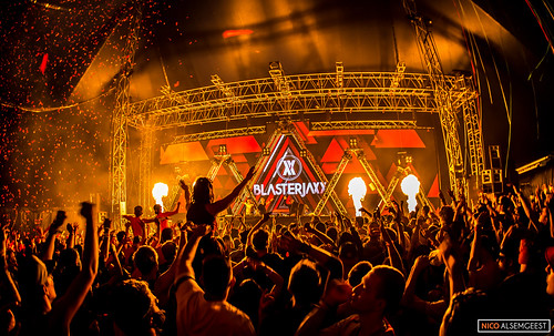 Blasterjaxx @ Don't Let Daddy Know Creamfields 2015