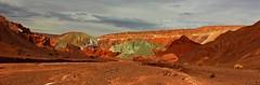 Mars on Earth... the Rainbow Valley - Atacama Desert - Desierto de Atacama -  Valle del Arco Iris - Marte en la Tierra (Made Bulkes) Tags: iris red mars verde green arcoiris rainbow rojo desert valle valley atacama desierto arco marte roja tierra geologia valledelarcoiris