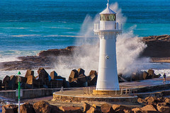 Protection.. (e0nn) Tags: ocean lighthouse waves pentax harbour sigma swell steev wollongong lightroom nikfilters steveselby steveselbyphotography pentaxk3 sigma50500apohsm