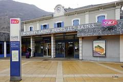 Gare de Motiers Salins Brides-les-Bains (A. Wee) Tags: france station gare railway valthorens rhonealpes   salins brideslesbains motiers