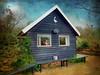 IMG_8681  De Lokkerij - The blue Stork house - ON EXPLORE #91 (pinktigger) Tags: blue house holland netherlands outdoor nederland stork drenthe ooievaar delokkerij