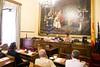 Visita al Senado de los participantes en CESEDEN 05