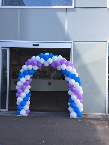 Ballonboog 6m Penta Zadkine College Hoogvliet Rotterdam