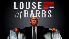 Louse of Barbs (DonkeyHotey) Tags: face photomanipulation photoshop photo election political politics cartoon manipulation politician donaldtrump republican campaign primary gop rnc commentary generalelection 2016 johnmiller politicalcommentary donkeyhotey thebigorangehead