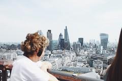 Vista riccia della city da St.Paul (Alice Pietrobon) Tags: travel people urban london art photography arch londra stree architexture travellondon