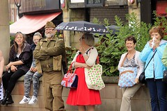 Rotherham Vintage Hop June 2016 (1) (Chris.,) Tags: canon dance war song military crowd 1940s 1950s creativecommons polkadot rotherham homeguard allsaintssquare vintagehop queens90thbirthdaycelebration