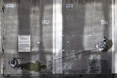Permis de construire (Gerard Hermand) Tags: street woman dog chien streetart paris france art wall canon paint femme peinture rue mur eos5dmarkii formatpaysage gerardhermand 1605151862